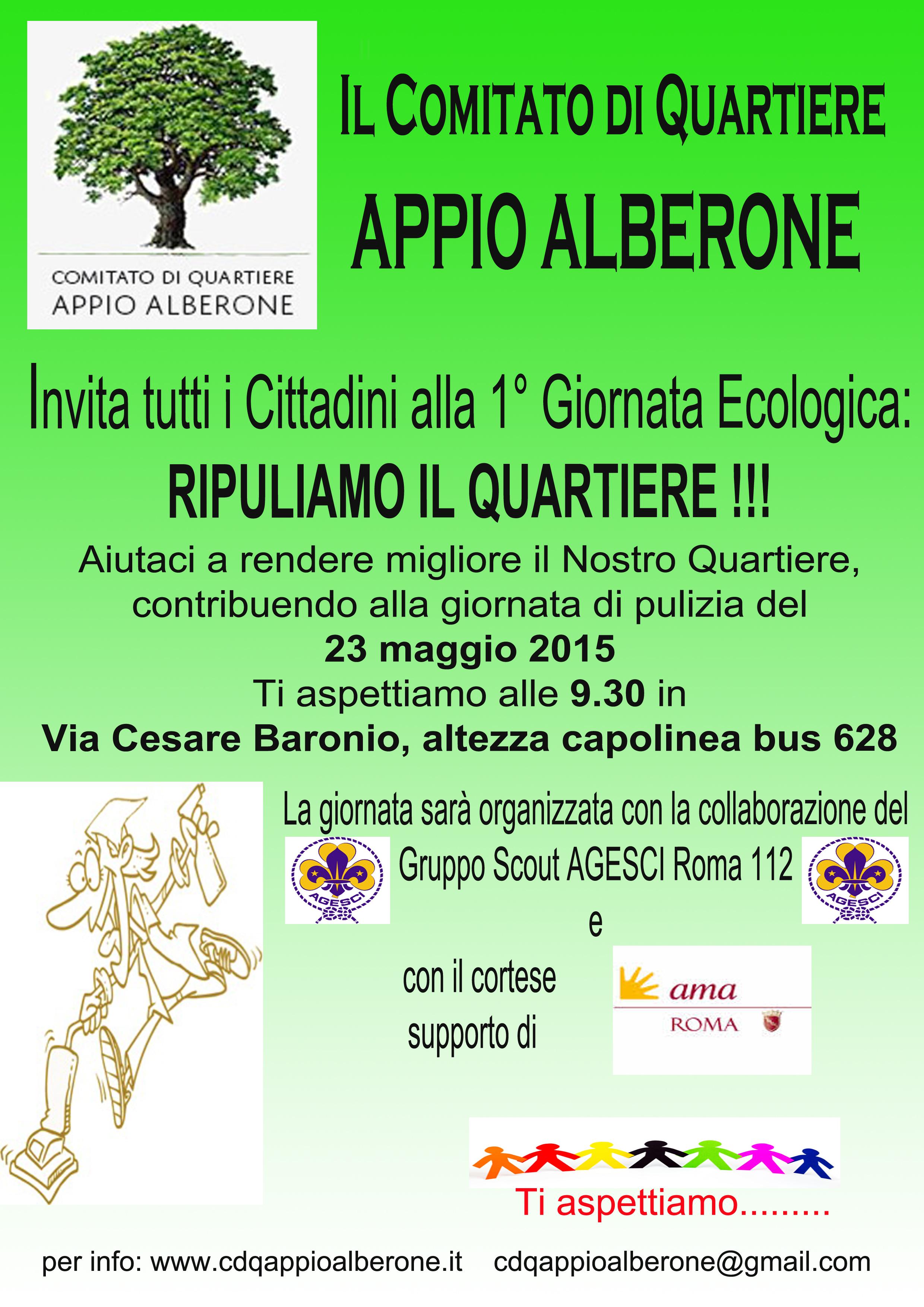 Volantino Giornata Ecologica CDQ