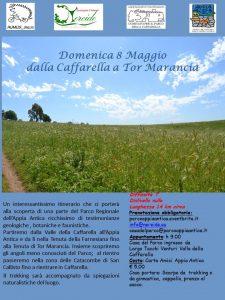 Dalla Caffarella a Tor Marancia 8 maggio