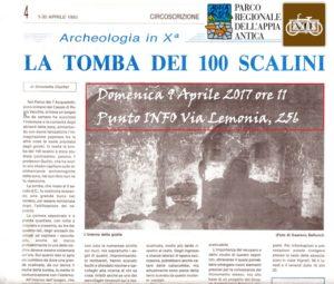 ipogeo-di-romavecchia-tomba-cento-scalini-bellucci-clucher-archeologia-cristiana-roma
